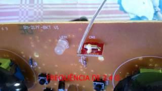 getlinkyoutube.com-Rádio Transmissor Drone SYMA X5C