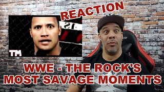 getlinkyoutube.com-WWE THE ROCK'S MOST SAVAGE MOMENTS | REACTION!!!