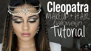 Tutorial | Cleopatra Inspired Makeup + Hair | Kaushal Beauty