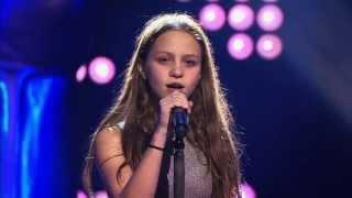 getlinkyoutube.com-Resa – 'Nothing else matters' | Blind Audition | The Voice Kids | VTM