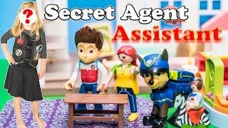 getlinkyoutube.com-SECRET AGENT ASSISTANT Paw Patrol Nickelodoen Special Agent Assistant Toys Video Parody