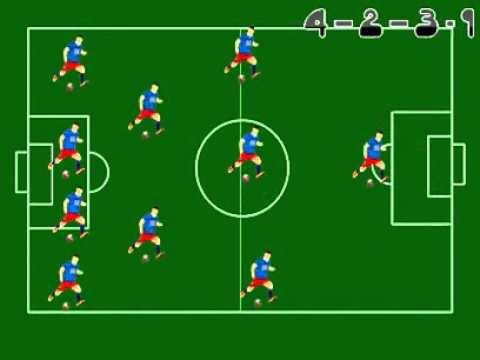 Video Tutorial Belajar Formasi Sepakbola dan Cara Membawa Bola