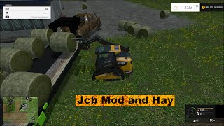 getlinkyoutube.com-Farming simulator 2015 JCB mod and more!!