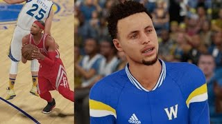 NBA 2K16 PS4 My Career - Chef Curry!