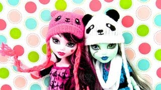 How to Make a Doll Kawaii Hat , Beanie and Scarf
