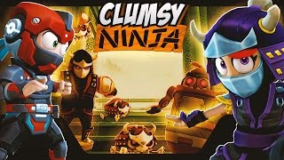 Clumsy Ninja - Robot Invasion!