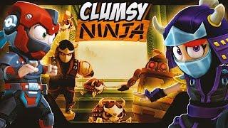getlinkyoutube.com-Clumsy Ninja - Robot Invasion!