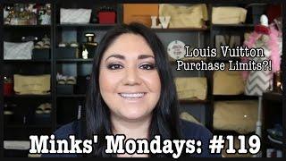 getlinkyoutube.com-Minks' Mondays: Q & A #119 | Louis Vuitton Purchase Limits