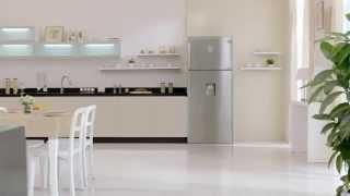 getlinkyoutube.com-Geladeira / Refrigerador Samsung Frost Free, Duplex, Inox Look, 458 litros - RT46H5601SL