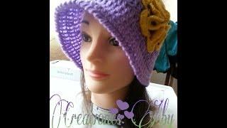getlinkyoutube.com-Sombreo Isabel a  Crochet