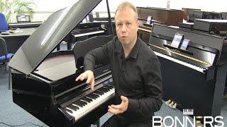 getlinkyoutube.com-Roland GP607 Digital Grand Piano Demonstration Review