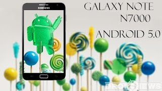 How to install android lollipop in galaxy note 1 gt n7000