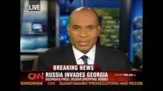 CNN: Russia Attacks Georgia 8/8/2008