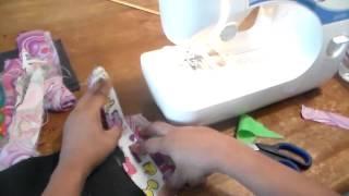 getlinkyoutube.com-What To Do With Fabric Scraps: String piecing