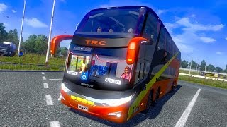 getlinkyoutube.com-Euro Truck Simulator 2 Thailand Mod Bus G7 1800 DD 8x2 v.1.15.x / 1.16.x Part1
