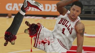 getlinkyoutube.com-NBA 2k15-MyTeam- WTF! INJURY! Most Injuried Players Challenge! Funny Gameplay!