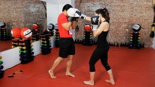 getlinkyoutube.com-How to Defend against a Punch   Kickboxing Lessons