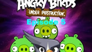 getlinkyoutube.com-Angry Birds Under Pigstruction Plush Episode 5: Silver's Story