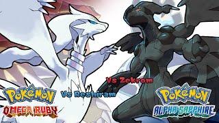 getlinkyoutube.com-Pokemon Omega Ruby/Alpha Sapphire - Battle! Reshiram/Zekrom Music (HQ)