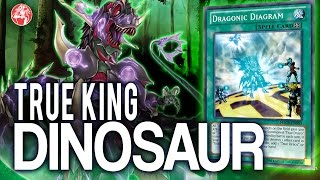 Testing OCG | True King  Dinosaur (MARCH/ Marzo 2017) Post Structure Deck & MACR