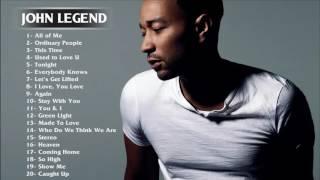 Best Songs of John Legend - John Legend greatest hits full album width=