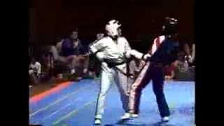 getlinkyoutube.com-Joe Corley's Battle of Atlanta World Karate Championship Otomix Challenge 1995