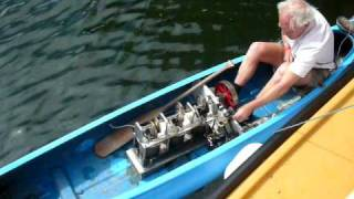 getlinkyoutube.com-Stirling Engine Powered Canoe