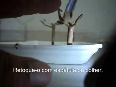 Miniaturas para Maquetes   Como fazer Árvores 1