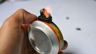 cara membuat korek api kaleng (edisi 2)