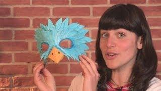 getlinkyoutube.com-How To Make A Bird Mask
