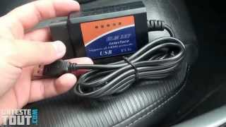 getlinkyoutube.com-Lunaris2142 teste l'interface diagnostic ELM 327 v1.5a USB