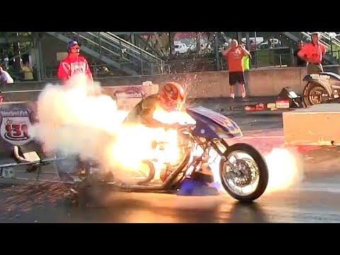 Мотоциклы Драгстеры - Взрыв Мотора?!