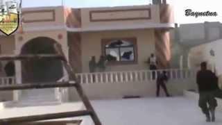mujahidin FSA syria mengejar tikus tikus syiah bashar al assad