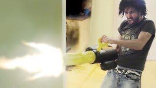 Nerf War: GATLING GUN!