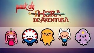 getlinkyoutube.com-Pack Hora de Aventura