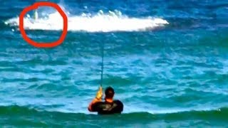 getlinkyoutube.com-EXTREME Shark Fishing on Crowded Beach