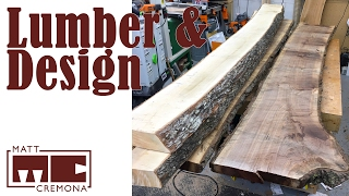 Lumber and Design - JR's Bed Part 1
