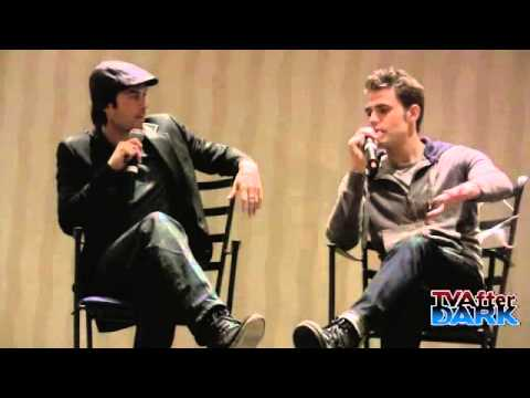 Paul Wesley & Ian Somerhalder at Eyecon 2012/10/28