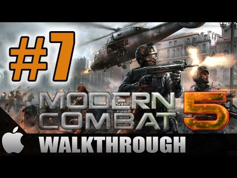 MODERN COMBAT 5 BLACKOUT WALKTHROUGH PART 7 FULL HD iOS iPAD 4 AIR MINI iPHONE 5 5S ANDROID WP
