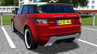 getlinkyoutube.com-City Car Driving 1.4.0 // 1.4.1 |  Range Rover Evoque 2014 free RIDE [1080p]