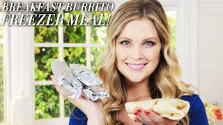 Breakfast Burrito Freezer Meal