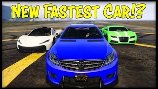 "getlinkyoutube.com-GTA 5 Online NEW ""FASTEST"" CAR! Schafter V12 vs T20 vs Adder! (Best Top Speed in the Game)"