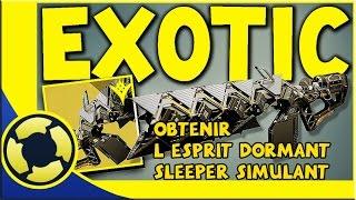 getlinkyoutube.com-DESTINY | Quête Exotique Cayde 6 | L'Esprit Dormant [ Sleeper Simulant ]