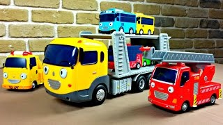 getlinkyoutube.com-타요 도로놀이 장난감 Tayo The Little Bus Toys Игрушечный автовоз из Тайо