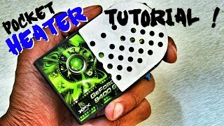 getlinkyoutube.com-DIY How To Make Mini Electric Cooler & Heater With Peltier - Portable Air Conditioner