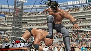 getlinkyoutube.com-WWE 2K17 Fury - Sick Curb Stomp Outta Nowhere!