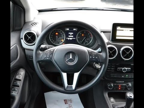 How to remove steering wheel + AIRBAG : Mercedes Benz B class 2013