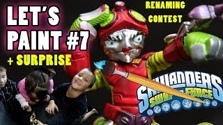 getlinkyoutube.com-Lets Paint: MRS. Spy Rise Surprise + Renaming Contest (Skylanders Swap Force Custom Variant) Part 7