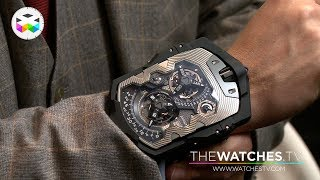 getlinkyoutube.com-URWERK presents the UR-1001 Titan at Baselworld 2015