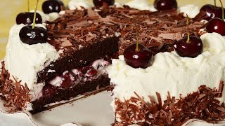 getlinkyoutube.com-Black Forest Cake Recipe Demonstration - Joyofbaking.com